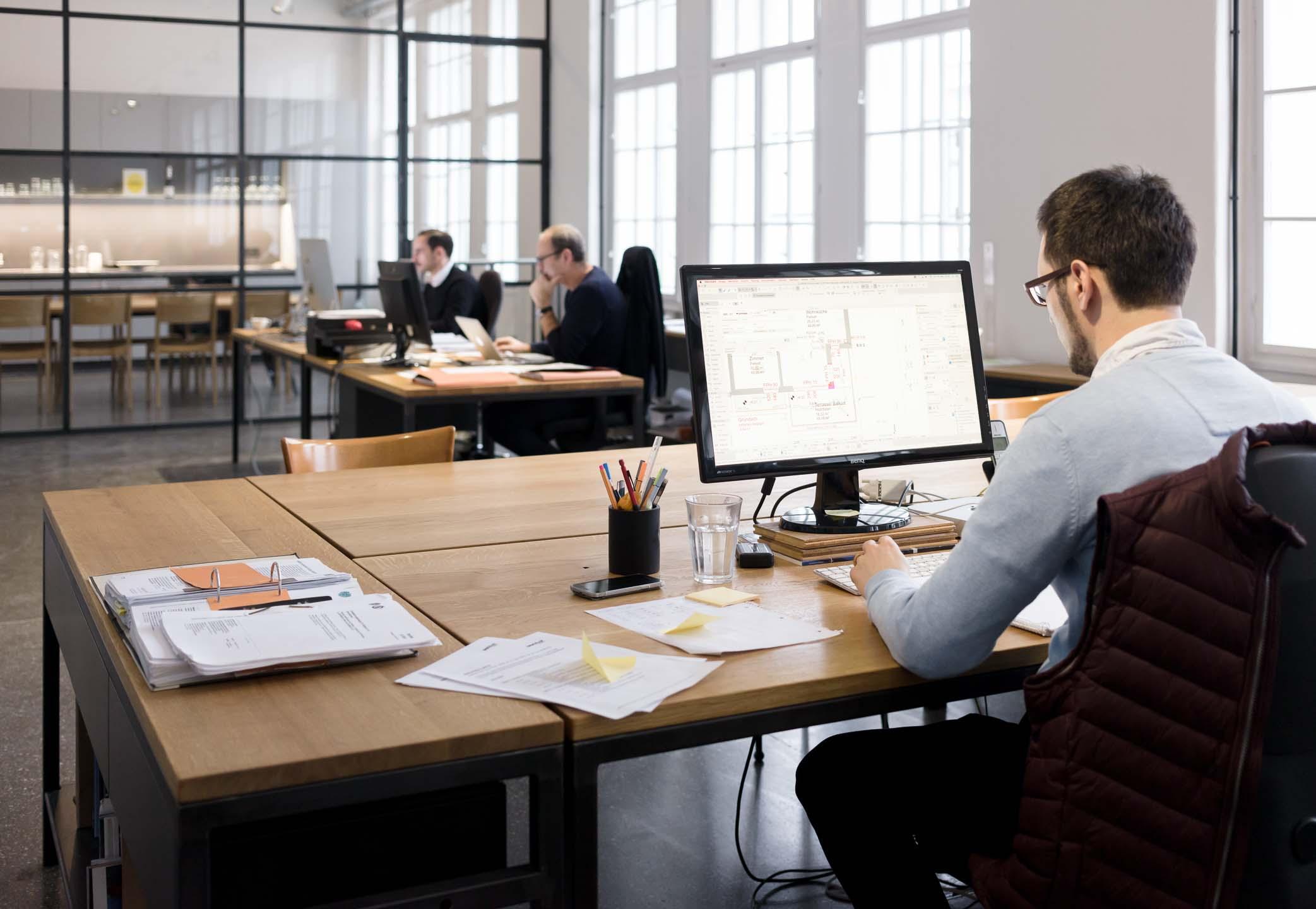 Arbeitssituation Architekturbüro