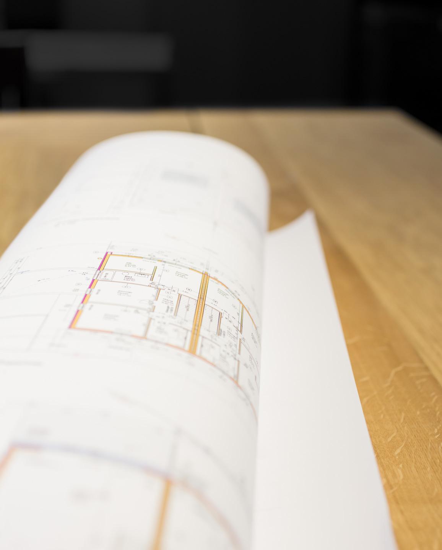 Detailfoto-Plan